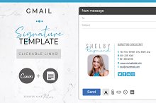 Email Signature | Canva + Gmail