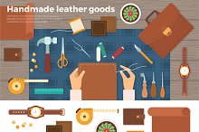 Tools for Handmade with Leather