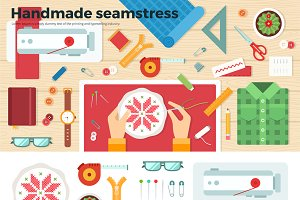 Tools for Handmade. Seamstress