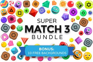 Super MATCH 3 BUNDLE