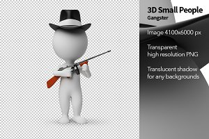 3D Small People - Gangster