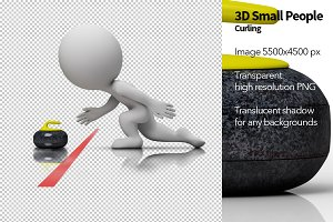 3D Small People - Curling