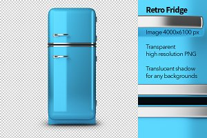 Retro Fridge