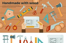 Tools for Handmade with Wood