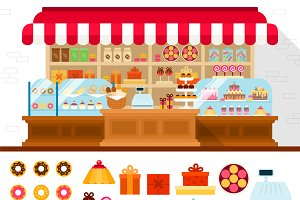 Bakery with confectioneryon