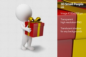 3D Small People - Gift