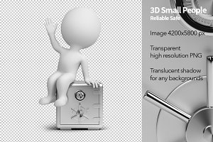 3D Small People - Reliable Safe
