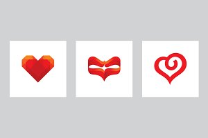 Valentine's Day Heart - vector signs