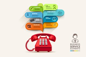 Business Telephone Service Template.