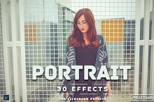 30 Portrait Effect Lightroom Presets