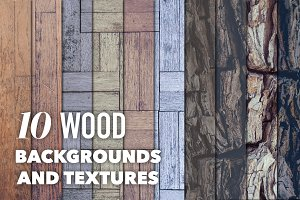 Pastel Wood Backgrounds & Textures