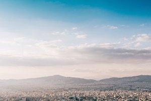 Athens panoramic view #2