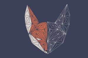 Fox polygon head