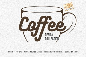 Coffee design collection
