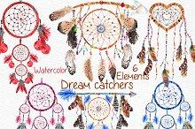 Dreamcatchers, Tribal clip art