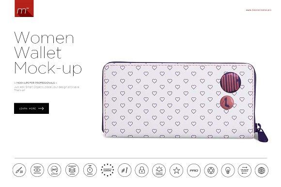 Download Women Wallet Mock-up