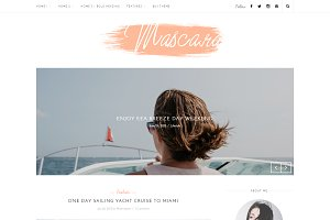Mascara - Wordpress blog theme