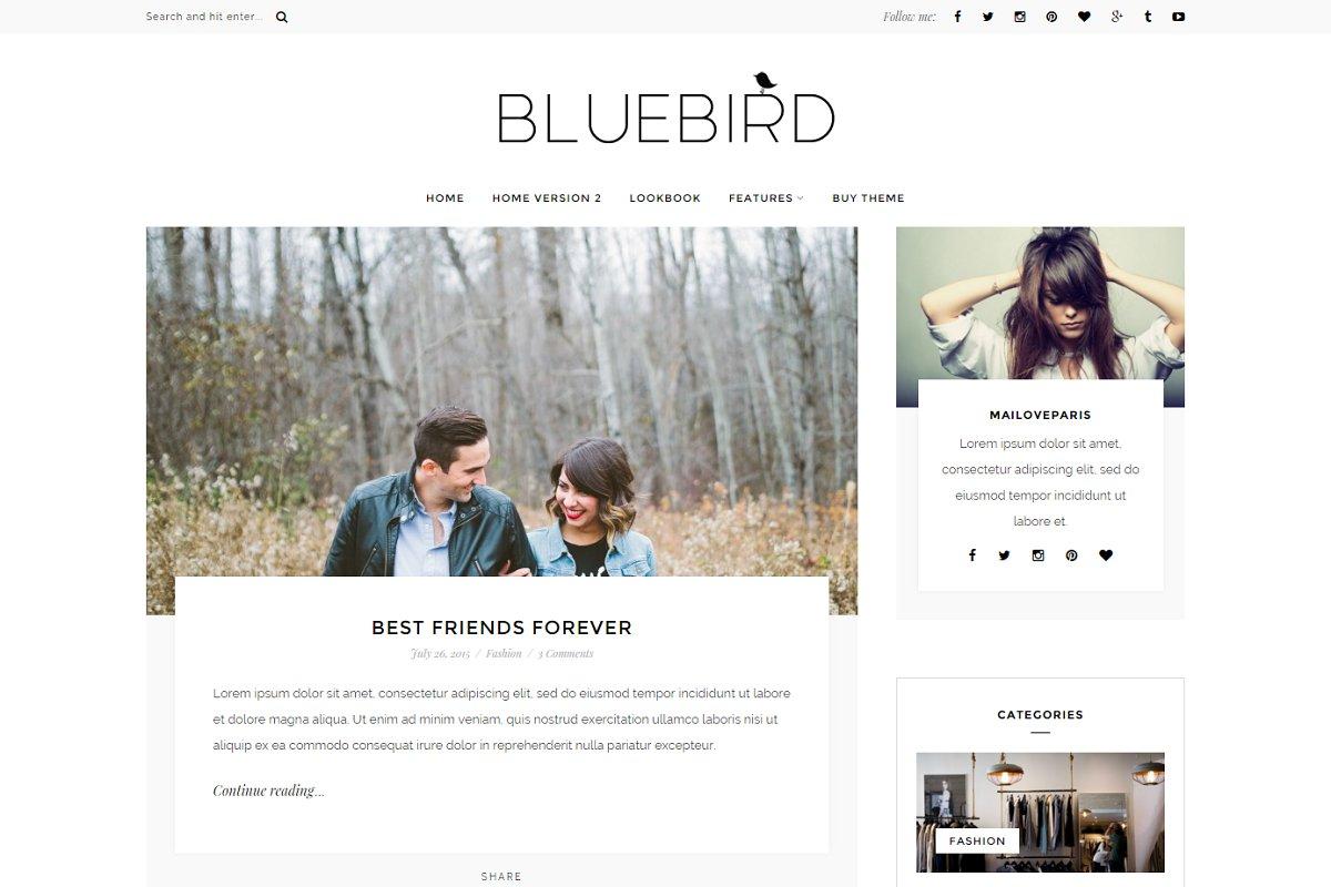 17 Mobile Blog Themes & Templates