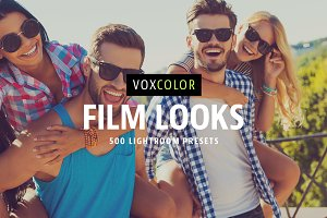 Film Looks – 500 Lightroom Presets