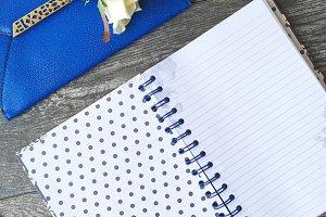 Le Bleu: Open Journal Mockup