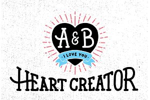Valentines day Heart Creator + Bonus