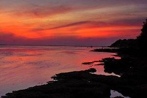 Beauty Sunset Beach
