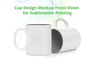 Cup Design Mock-up template