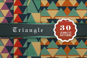 Triangle Seamless Patterns