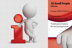 3D Small People - Info Icon