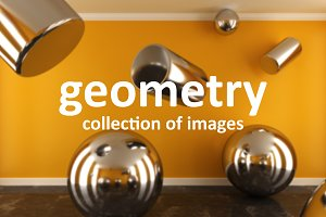 Geometry. Collection of images
