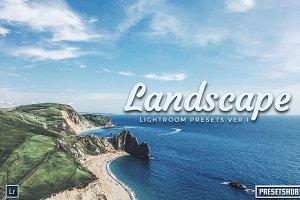 20 Landscape V-1 Lightroom Presets