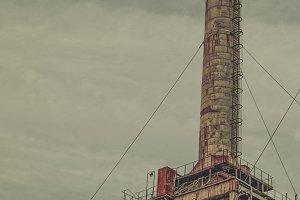 Rusting Industrial Tower