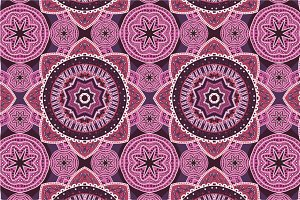 3 Ornamental Seamless Patterns