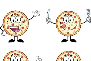 Pizza Character Collection - 1