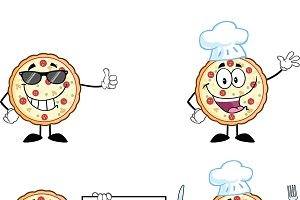 Pizza Character Collection - 2