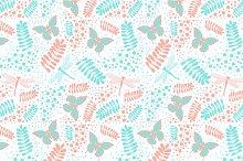 """Seamless pattern """"Summer"""""""
