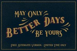 LK Better Days + *free* alternate