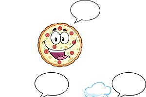 Pizza Character Collection - 3