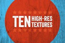 10 High Resolution Textures