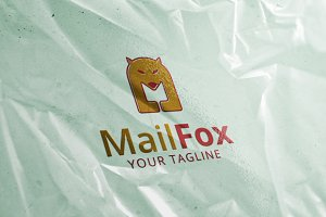 Mail Fox - Logo Template