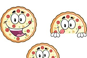 Pizza Character Collection - 4