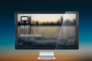 30 HD BLUR BACKGROUNDS