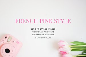 Feminine Stock Image / Bundle of 6