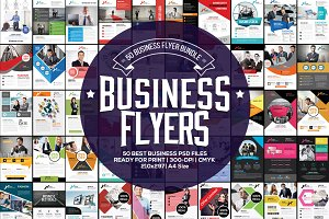 50 Business Flyers Bundle