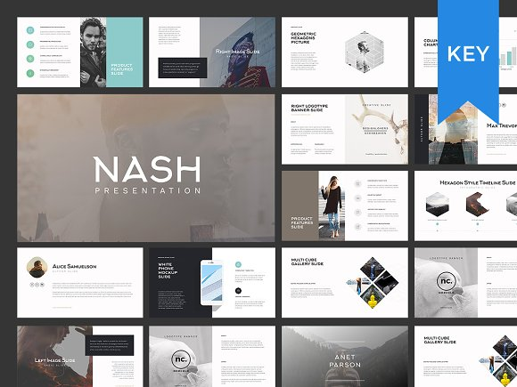 nash keynote presentation template presentation templates