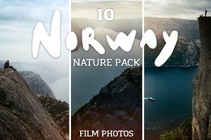 Norway nature photo pack
