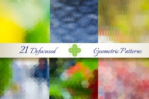 21 Defocused Geometric Patterns