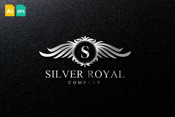 Silver Royal Logo Logo Templates Creative Market
