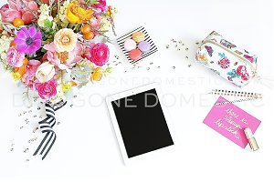 Styled Stock Photo - Colorful iPad