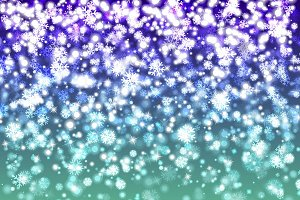 Blured christmas lights background